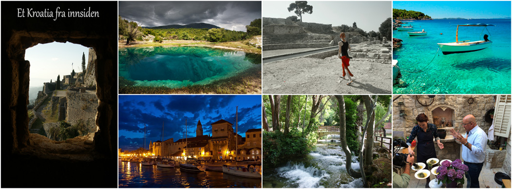 Kroatia ferie opplevelser reise autentisk guiding Dalmatia
